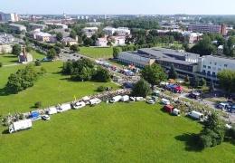 Нарвская весенняя ярмарка нарушит движение на улице Кренгольми