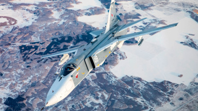 Предельно близко. Российский бомбардировщик пролетел рядом с эсминцем США