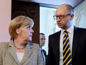 Премьер Украины на встрече с Меркель обсудил участие ФРГ в развитии украинской энергетической инфраструктуры