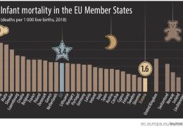 Младенческая смертность в Эстонии упала до самого низкого уровня в ЕС