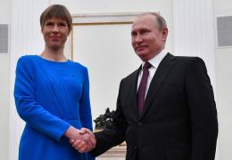 Помощник Путина назвал полезной встречу российского лидера с Кальюлайд