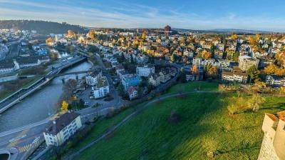 Мы предлагаем Вам подборку аэрофотографий удивительно красивого швейцарского городка Люцерна.