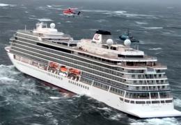 С норвежского парома, у которого в субботу отказал двигатель, эвакуировали часть пассажиров