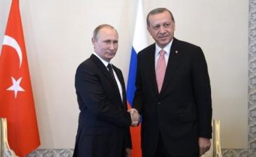 Путин и Эрдоган встретились в Петербурге