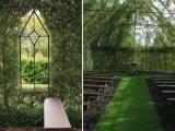 Церковь, построенная из живых деревьев