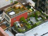 Дачный участок на крыше - Нью Йорк