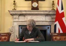 Тереза Мэй запустила процедуру выхода Великобритании из ЕС