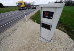По дороге на Сааремаа добавятся две камеры контроля скорости