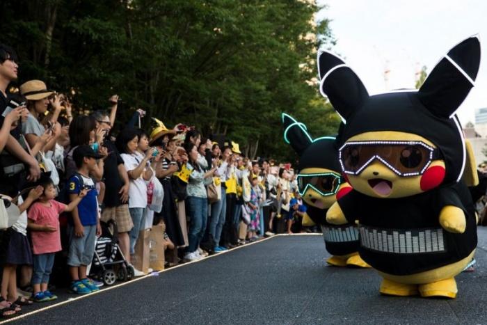 В Японии стартовал парад Пикачу