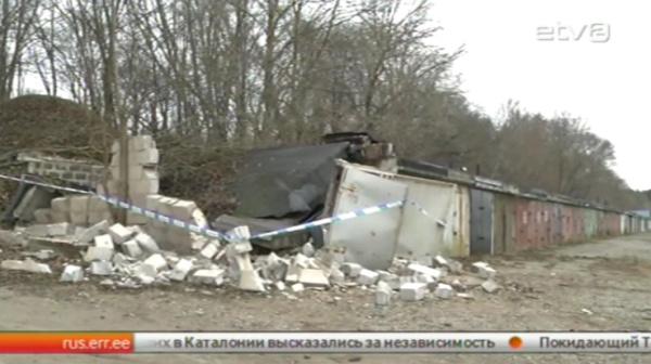 В Нарве сгорели конфискованные Инспекцией окружающей среды ловушки для ловли миноги