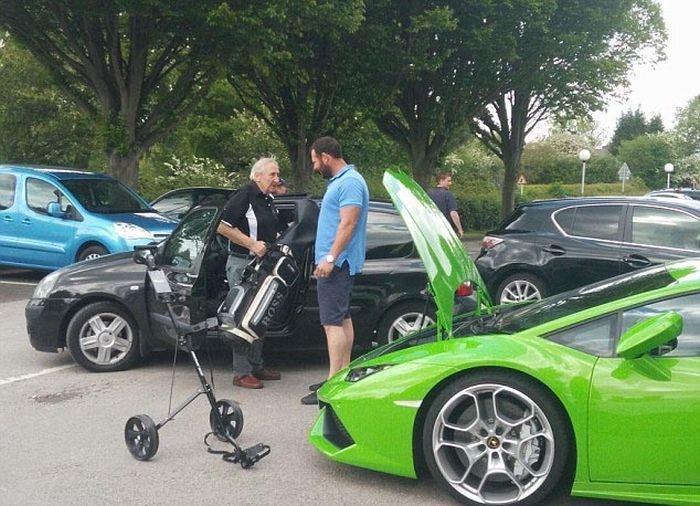 Зачем суперкару багажник, если в него ничего не влезает