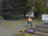 в Нарве мужчина пытался совершить самосожжение