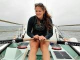 21-летняя девушка собирается проплыть через Атлантику, преодолев более 4800 км