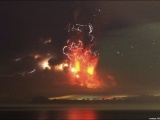 Пепел вулкана Кальбуко