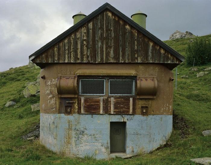 Наследие «холодной» войны: бункеры, замаскированные под горные шале