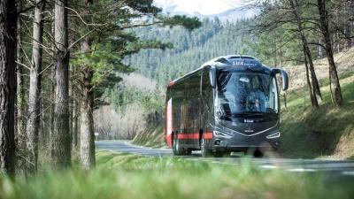 С апреля на маршруте Тарту-Таллинн появятся автобусы нового поколения