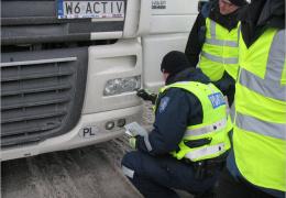 Полиция проверит грузовики и автобусы