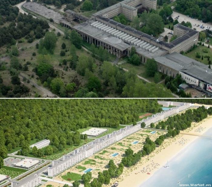"""Мечта Гитлера сбывается: """"Прора"""" станет роскошным курортом"""