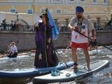 Фестиваль «Фонтанка-SUP» прошел в Санкт-Петербурге