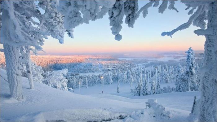 Сказочная зимняя Лапландия