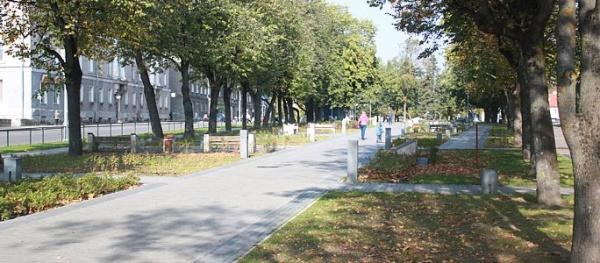 Парки, скверы и газоны пережили масштабные изменения