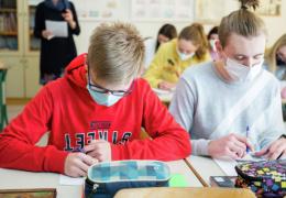 Коронавирус в Нарве: основными очагами распространения стали школы