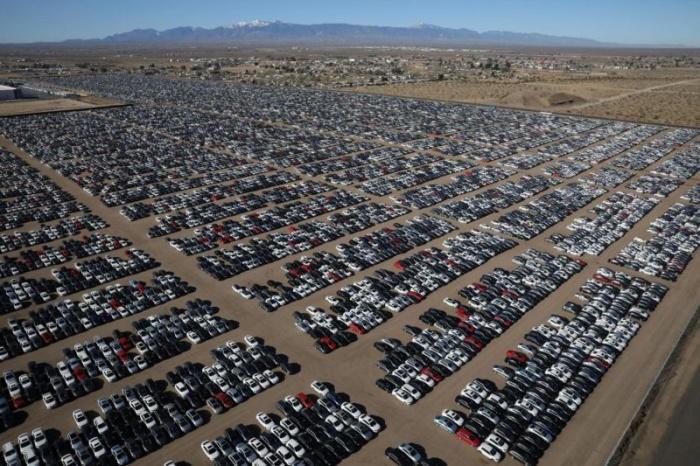 Автокладбище в пустыне с 300 000 Volkswagen и Audi