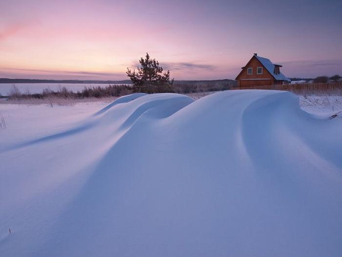 Зимние пейзажи Максима Евдокимова