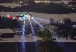 Оползень в Норвегии: спасатели пытаются разыскать пропавших без вести
