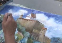 В Нарву съехались художники из разных стран и нарисовали приграничный город