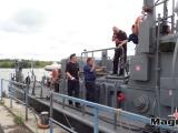Корабль морского дивизиона Кайтселийта EML Ristna P422 пришвартовался в Нарве