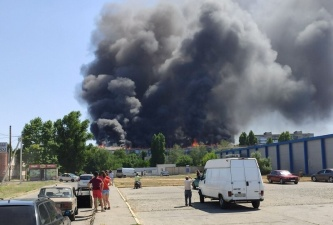 Украинец поссорился с женой и чуть не сжег пятиэтажку