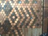 Пол из монеток