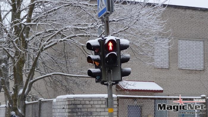 В Нарве установят новые светофоры