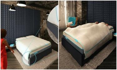 Британская фирма придумала одеяло, которое невозможно перетянуть на себя