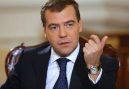 В ходе выступления Медведева в Госдуме все же упомянули про Навального
