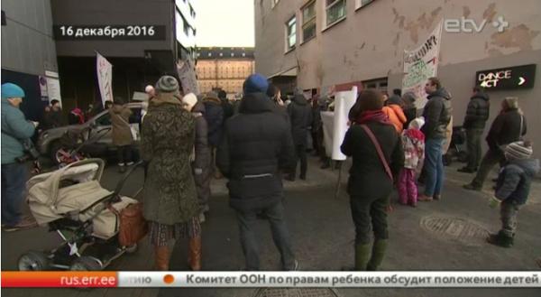 Экологи продолжают протестовать против вырубки леса в Эстонии