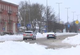 Йыхви стал самым заснеженным городом в Эстонии