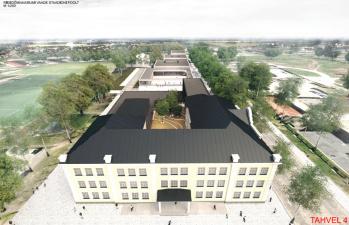 Государство ищет строителей для двух нарвских школ