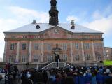 ФОТО : на Ратушной площади в Нарве началось празднование 100-летия республики