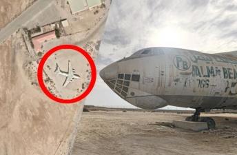 Откуда в арабской пустыне заброшенный советский Ил-76