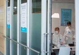 В Ида-Вирумаа выявили 67 новых случаев заражения коронавирусом, из них 39 в Нарве