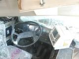 Фото: в Тарту автобус врезался в торговый центр