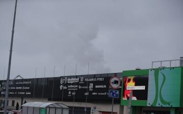 Торговый центр Rocca al Mare возобновил работу после вчерашнего пожара