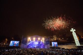 Новогодний фейерверк по случаю окончания юбилейного года в Таллинне обойдется в 14 000 евро
