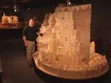 Минас Тирит, построенный из спичек за три года