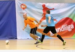Нарве прошли матчи первого этапа футзальной «Грандлиги»