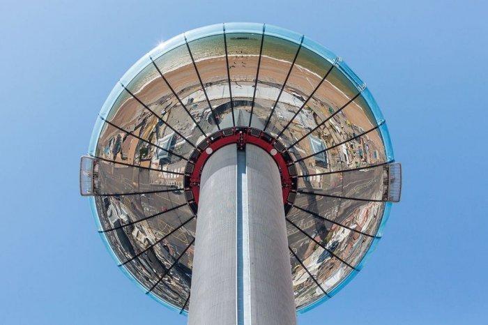 Самая тонкая в мире смотровая башня The British Airways i360