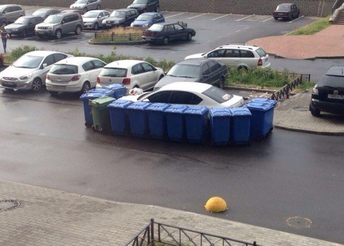 Наказание от мусорщиков