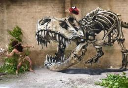 Потрясающий 3D стрит-арт от французского художника